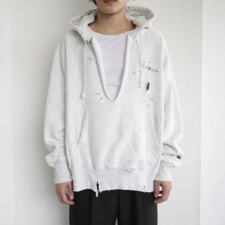 boro custom hoodie , body-replica reverse weave