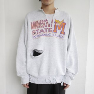 boro custom sweat , body-fruit of the loom , minnesota state screaming eagles