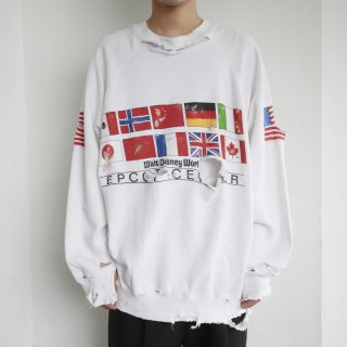 boro custom sweat , body-disney , flags