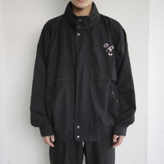 old collage broderie stand collar jacket