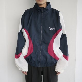 old reebok nylon jacket