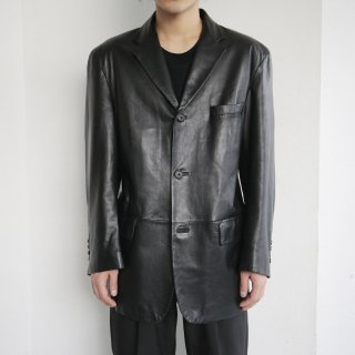 old leather 3b tailored jacket