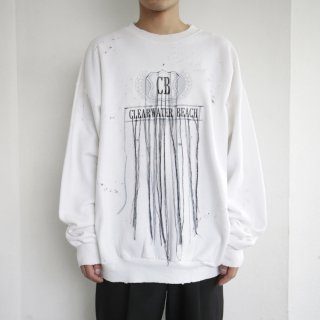 boro custom broderie sweat