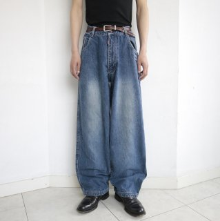 old knife pocket buggy denim pants