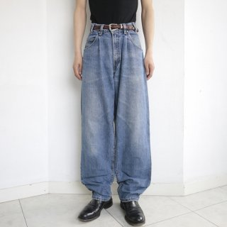 old levi's silver tab buggy pleated denim pants