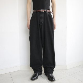 old lee dungarees wide denim pants