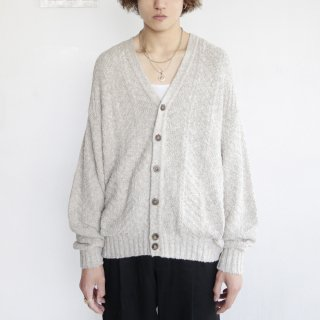 old loose cotton cardigan