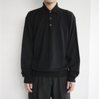 old Armani knit polo l/s