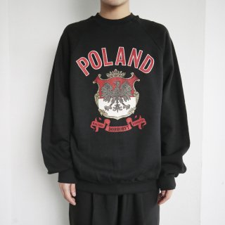 old Poland back map sweat