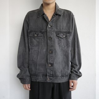 old washable trucker jacket
