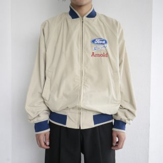 old ford racing zipped jacket