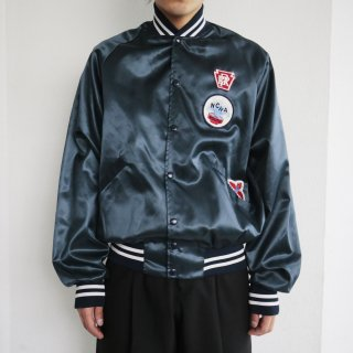 old custom nylon jacket