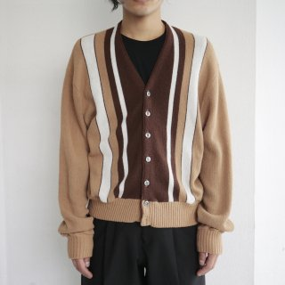 vintage stripe cardigan