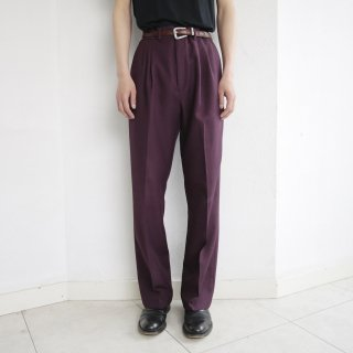 old 2tuck tapered slacks