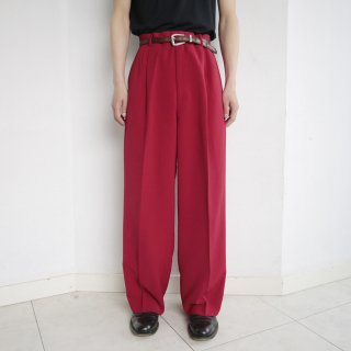 old 3tuck wide slacks