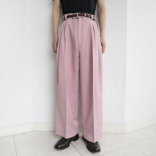 old resized wide stripe slacks