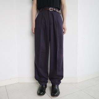 old wide tapered slacks