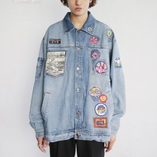 old bb custom loose denim jacket