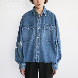 old box loose denim jacket