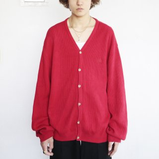 old chaps Ralph Lauren rib cotton loose cardigan