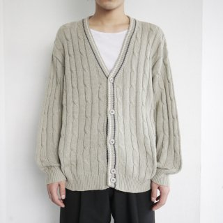 old euro cable tilden cardigan