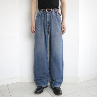old levi's silver tab low loose buggy denim pants