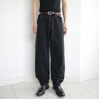 old calvin klein 5p wide denim pants