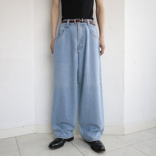 old interstate ice wash buggy denim pants