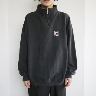 old FILA half zip sweat