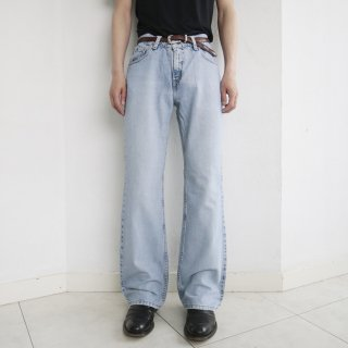 old Levi's silver tab flare denim pants