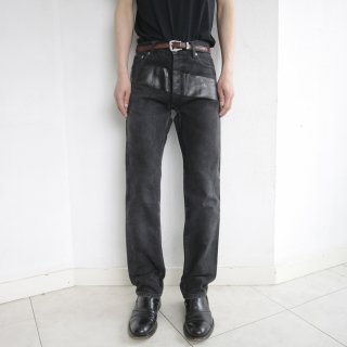 1997's HELMUT LANG coating line denim pants