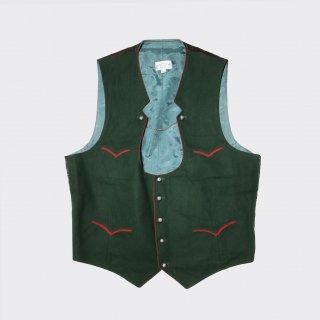 vintage tirolian vest