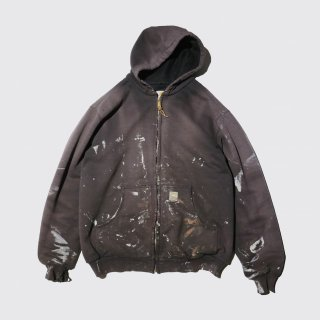 old carhartt dirty active hoodie