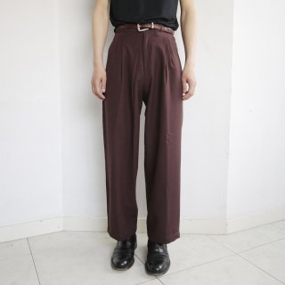 old 3tuck tapered slacks