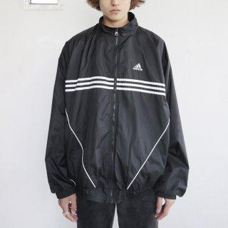 old adidas loose nylon jacket