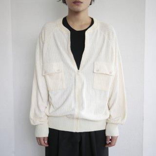 old rib pile jacket
