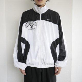 old nike nylon track jacket