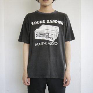old sound barrier marine audio ringer tee