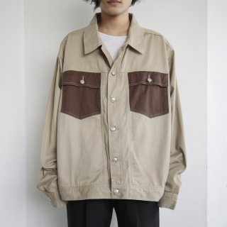 old switch loose trucker jacket