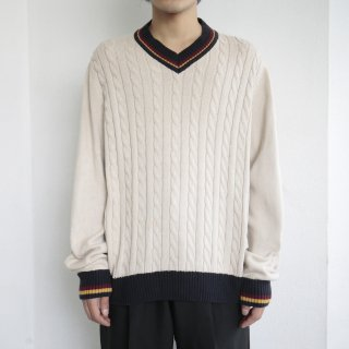 old cable tilden sweater