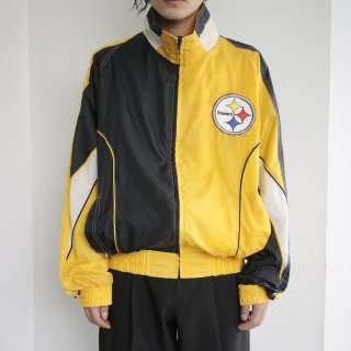 old steelers nylon jacket