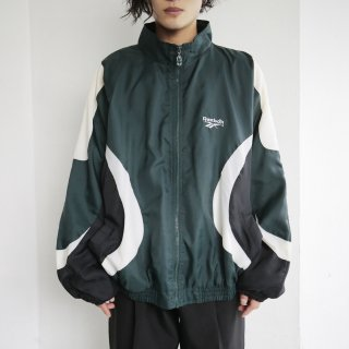 old reebok nylon jacket