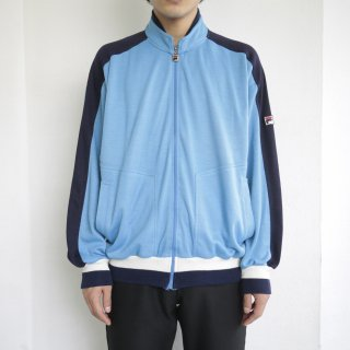 old euro fila jersey track jacket