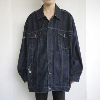 old sean jhon buggy trucker jacket