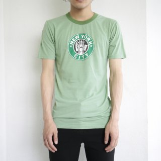 [40%OFF]old late90s new york parody ringer tee