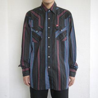 [40%OFF]old wrangler stripe western shirt