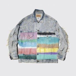 vintage custom trucker jacket by alta