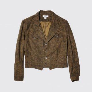 vintage short aviator jacket