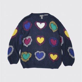 vintage love handknit sweater