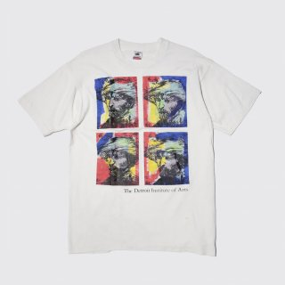 90s vincent willem van gogh art tee by detroit institute of arts , body-fruits of the loom